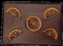 Tablette XXL chocolat noir - Oranges confites