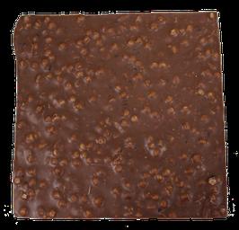 Tablette chocolat lait - Croustillant