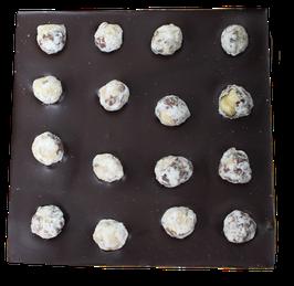 Tablette chocolat noir - Noisettes caramélisées