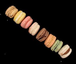 Macarons 8 pièces
