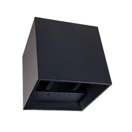 Wandlamp Cube 10x10x10 Zwart/Wit 6W 2300/2700/3000K Dim