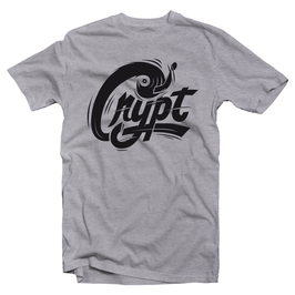DJ CRYPT Tee (heather grey)