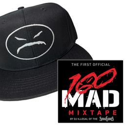 100 MAD - THE MIXTAPE CD & ONYX HAT