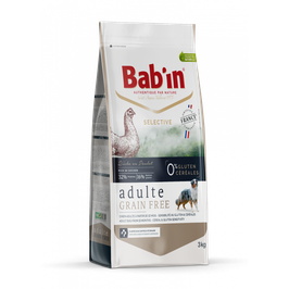BAB'IN Selective Adulte GRAIN FREE POULET