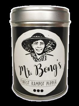 Schwarzer Kampot Pfeffer, Aromaschutzdose, 100g