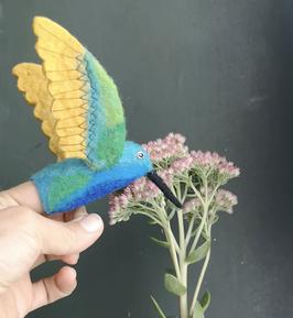 Fingerpuppe Kolibri