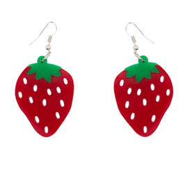 Collectif Ohrringe Strawberry