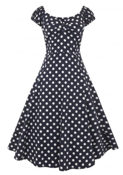 Collectif Kleid Dolores navyblau