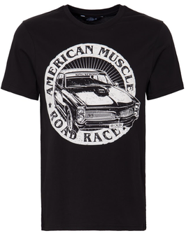 King Kerosin T-Shirt American Muscle