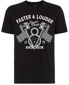 King Kerosin T-Shirt Faster & Louder