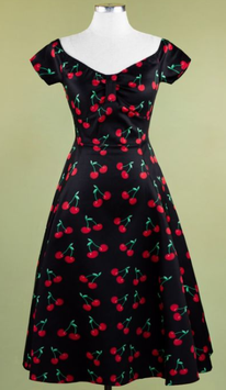 Lady Vintage Kleid Josie Retro Cherry