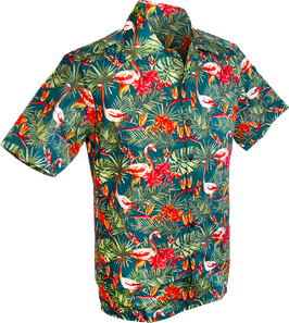 Chenaski Hawaiihemd Flamingo
