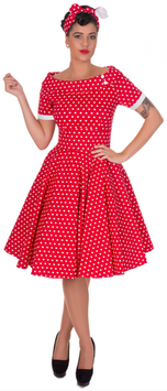 Dolly and Dotty Kleid Darlene Red Polkadots