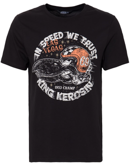King Kerosin T-Shirt In speed we trust