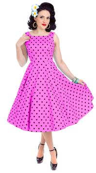 Hearts & Roses Kleid Rhiannon pink