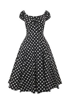 Collectif Kleid Dolores schwarz