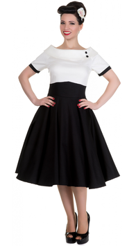Dolly and Dotty Kleid Darlene schwarz-weiss
