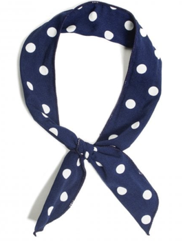 Haarband Collectif Polka Dot Wire navy