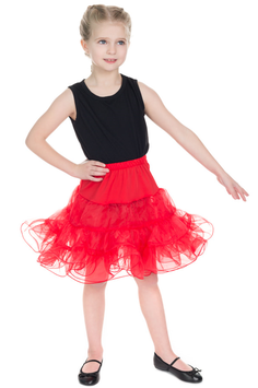 Hearts and Roses Petticoat rot Kids