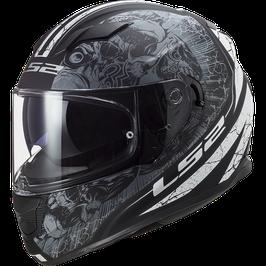 LS2 FF320 THRONE Matt Black Titanium