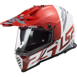 LS2 MX436 EVOLVE RED WHITE