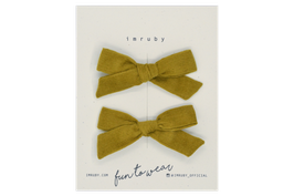 Imruby - mini bows haarspeldjes Nelly