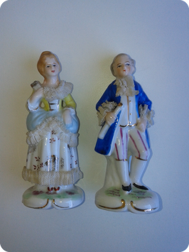 Couple style XVIIIe
