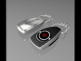 AMG Schlüsselanhänger mit Beleuchtung