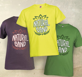 Camiseta Natural Band