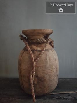 Nepalese pot / waterkruik met hengsel 01