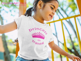 Kids T-Shirt *PRINCESS IN TRAINING*