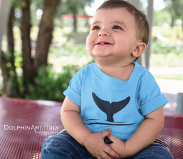 T-Shirt 'BABY DOLPHIN TAIL'