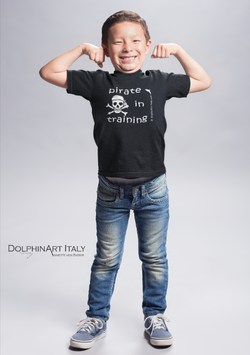 T-SHIRT FOR KIDS      *PIRATE IN TRAINING*
