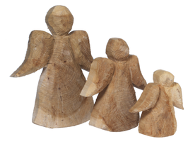 Holz-Engel Pappel 46 cm