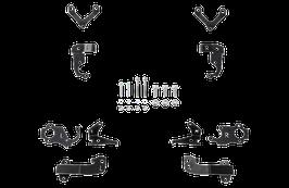 Höhensensor Halter   VW Golf 8 (Audi A3 / Seat Leon/ Skoda Octavia)