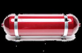 TA-Technix Lufttank | Carbon Rot (nahtlos)