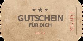 Geschenk Gutschein (Code)