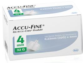 Accu-Fine Pennadeln 0,23x4mm (32G) - 100 ST