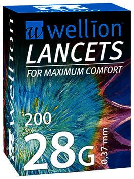 Wellion LANCETS 28G - 200 ST