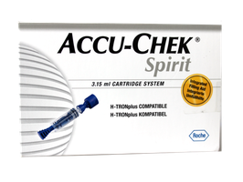 Accu-Chek Spirit 3,15ml - Insulin-Reservoir - 5 St