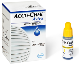 Accu-Chek Aviva Control - Kontrolllösung - 2,5 ml