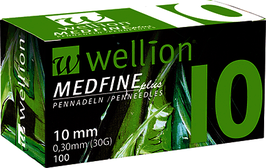Wellion MEDFINE plus Pennnadeln 0,33x10mm (29G) - 100 ST