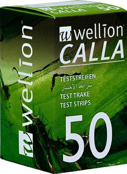 Wellion CALLA Blutzuckerteststreifen - 50 ST