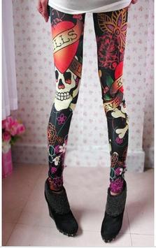 Ed Hardy Style Leggings