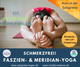 Schmerzfrei! Faszien- & Meridian-Yoga am Donnerstagabend, 2.5.-11.7., 19.00-20.00 Uhr (6x)