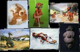 Postkartenset mit 6 Karten / Set #16