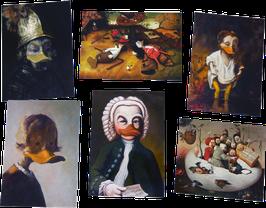 Postkartenset mit 6 Karten / Set #22