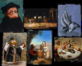 Postkartenset mit 6 Karten / Set #18
