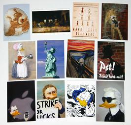 Postkartenset mit 12 Karten / Set #7