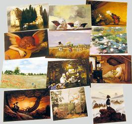 Postkartenset mit 12 Karten / Set #4